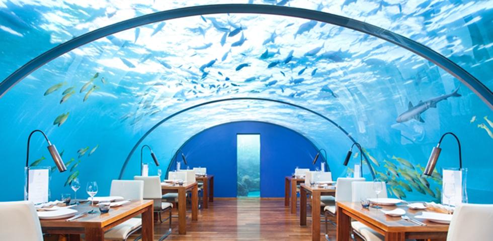 水中レストラン「ITHAA」